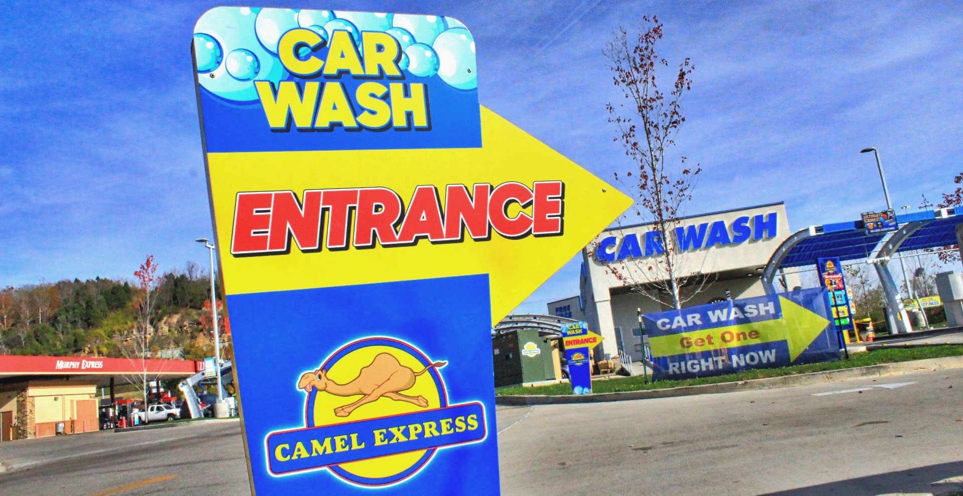 Camel Express Car Wash, Nashville TN
